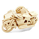 cheap 3D Puzzles-3D Puzzle Jigsaw Puzzle Metal Puzzle Wood Model Model Building Kit Moto DIY Wood Natural Wood Classic Kid's Adults' Unisex Gift
