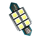 billige Interiørlamper til bil-2pcs Festong Bil Elpærer 3W SMD 5050 300lm LED Tilbehør