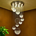 cheap Chandeliers-Chic & Modern Chandelier Downlight - Crystal, 110-120V / 220-240V, Warm White, Bulb Included