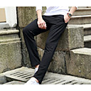 cheap Body Jewelry-Men's Cute Active Cotton Straight Loose Active Chinos Pants - Solid Colored Striped Print
