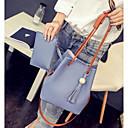 preiswerte Handbeutel-Damen Taschen Polyester PU Tragetasche für Normal Draussen Ganzjährig Rosa Grau Leicht Blau