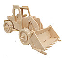 cheap Models & Model Kits-3D Puzzle Jigsaw Puzzle Wood Model Car Simulation DIY Wood Classic Construction Truck Set Kid's Adults' Unisex Gift