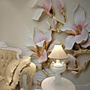 tanie Fresk-Fresk Brezentowy Tapetowanie - klej wymagane 3D / Wzorzyste / Kwiat