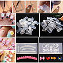 baratos Strass & Decorações-30pcs Ferramenta de Nail Art Durável arte de unha Manicure e pedicure Personalizada / Clássico Diário