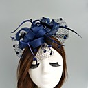 cheap Party Headpieces-Flax / Net Fascinators / Hats / Birdcage Veils with 1 Wedding / Special Occasion Headpiece
