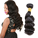 cheap One Pack Hair-6 Bundles Peruvian Hair Loose Wave Virgin Human Hair Natural Color Hair Weaves 8-26 inch Human Hair Weaves Human Hair Extensions