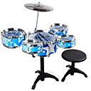 cheap Toy Instruments-Drum Set Baby Music Toy Educational Toy Toy Musical Instrument Round Drum Set Jazz Drum Simulation