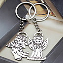 cheap Keychain Favors-Music Keychain Favors Metalic Keychains - 6