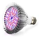 abordables Luz Ambiente LED-2400-2600 lm E26/E27 Cultivo de bombillas 48 leds SMD 5730 Rojo Azul AC 85-265V