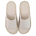זול נעליי בית-כפכפי גברים כפכפי בית מוצק סריגה צבע אחיד