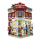olcso Building Blocks-XINGBAO Építőkockák 5491pcs Ház Uniszex Ajándék