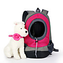 cheap Dog Travel Essentials-Cat / Dog Carrier & Travel Backpack Pet Baskets Solid Colored Portable / Breathable Green / Blue / Pink For Pets