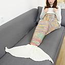 זול שמלות לבנות-שמיכה לנסיעות שמיכות שמיכת חירום יום יומי\קז'ואל בגדי ריקוד נשים בנות בתולת ים