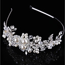 cheap Party Headpieces-Crystal / Imitation Pearl / Alloy Tiaras / Headbands with 1 Wedding / Special Occasion / Birthday Headpiece