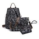 cheap Bag Sets-Women's Bags Nylon Bag Set 3 Pcs Purse Set Red / Fuchsia / Brown