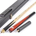 preiswerte Billard & Pool-Dreiviertelzweiteilige Cue Cue Sticks & Zubehör Snooker / Englisch Billard Esche / Ebenholz