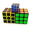 cheap Rubik's Cubes-Rubik's Cube Luminous Glow Cube 3*3*3 Smooth Speed Cube Magic Cube Stress Reliever Puzzle Cube Matte Sticker Glow in the Dark Fluorescent