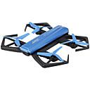 olcso Mágneses játékok-RC Drón JJRC H43WH 4CH 6 Tengelyes 2,4 G HD kamerával 2.0MP RC quadcopter FPV / LED fények / Headless Mode RC Quadcopter / Fényképezőgép