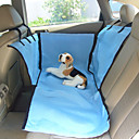 cheap Dog Travel Essentials-Dog Clothes Car Seat Cover Solid Colored Beige / Blue Cat / Dog