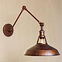 abordables Lampes à Bras Articulé-simple / Rétro / Rustique Lumières de bras oscillant Métal Applique murale 110-120V / 220-240V 40W / E26 / E27