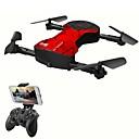 olcso RC quadcopterek és drónok-RC Drón SHR / C 8807 4CH 6 Tengelyes 2,4 G HD kamerával 720P RC quadcopter FPV / Egygombos Visszaállítás / Headless Mode RC Quadcopter /
