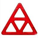 abordables Blocs Magnétiques-Blocs Magnétiques Sets de Jouets Magnétiques Triangle Magnétique Enfant Jouet Cadeau