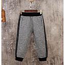 billige Bukser til gutter-Barn Gutt Ensfarget Bomull Bukser