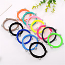 cheap Hair Accessories-Galaxy Towel Hair Circle Korean Version of the Color of High-Elastic Rubber Band New Promotional Base Hair Rope 10PCS