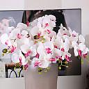 baratos Flor artificiali-Flores artificiais 5 Ramo Casamento Plantas Flor de Mesa