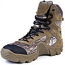 cheap Men's Boots-Men's Bootie Suede / Canvas Fall / Winter Boots Hiking Shoes Army Green