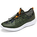 cheap Men's Athletic Shoes-Men's Tulle Summer / Fall Comfort Athletic Shoes Running Shoes Black / Gray / Army Green