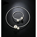 cheap Jewelry Sets-Women's Crystal Jewelry Set - Luxury, Classic, Basic Include Necklace / Bracelet Gold / Silver For Wedding / Party / Birthday / Graduation / Engagement / Gift / Daily / Casual