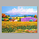 cheap Christmas Decorations-Oil Painting Hand Painted - Landscape Artistic Canvas