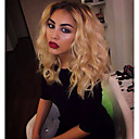 cheap Human Hair Wigs-Human Hair Lace Front Wig Natural Wave 130% Density 100% Hand Tied African American Wig Natural Hairline Ombre Hair Short Medium Long