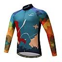 cheap Cycling Jerseys-Cycling Jersey Bike Top Fleece Bike Wear Warm Stretch Wicking YKK Zipper Cycling / Bike