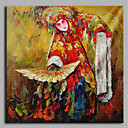 cheap Women's Oxfords-Oil Painting Hand Painted - People Artistic Chinese Style Canvas