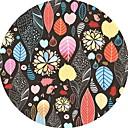 זול שטיחים-שטח שטיחים יום יומי / מודרני פּוֹלִיאֶסטֶר, עגול איכות מעולה שָׁטִיחַ / החלקה ללא