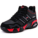 זול נעלי ספורט לגברים-בגדי ריקוד גברים PU סתיו / חורף נוחות נעלי אתלטיקה ריצה לבן / אדום / כחול