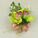 """baratos Bouquets de Noiva-Bouquets de Noiva Alfinetes de Lapela Casamento Ocasião Especial Cetim 3.94""""(Aprox.10cm)"""