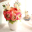 baratos Flor artificiali-Flores artificiais 1 Ramo Moderno / Contemporâneo / Estilo simples / buquês de Noiva Plantas / Lótus Flor de Mesa