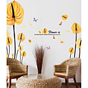 cheap Wall Stickers-Decorative Wall Stickers - Plane Wall Stickers Botanical Living Room