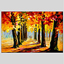 cheap Abstract Paintings-Oil Painting Hand Painted - Landscape Classic Canvas