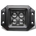 abordables Iluminación para Moto-Camioneta Bombillas 20W LED de Alto Rendimiento 2000lm 4 Luz de Trabajo For Universal Todos los modelos Todos los Años