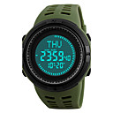 cheap Chandeliers-SKMEI Men's Sport Watch / Wrist Watch / Digital Watch Japanese Alarm / Calendar / date / day / Chronograph PU Band Black / Green / Water Resistant / Water Proof / Compass / Luminous / Stopwatch