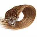 preiswerte Mikroring Haar-Verlängerung-Febay Mikroring Haar-Verlängerung Haarverlängerungen Glatt Echthaar Haarverlängerungen Echthaar Nano Damen