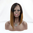 cheap Human Hair Wigs-Remy Human Hair Lace Front Wig Brazilian Hair Straight Wig Bob 130% Density with Baby Hair 100% Virgin Women's Short Human Hair Lace Wig
