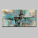 billige Landskabsmalerier-Hang-Painted Oliemaleri Hånd malede - Abstrakt Abstrakt / Moderne Omfatter indre ramme