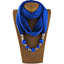 cheap Anklet-Women's Basic Infinity Scarf - Solid Colored