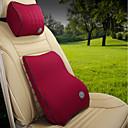 ราคาถูก หมอนอิงในรถ-ยานยนต์ ชุดเบาะรองศีรษะและเอว สำหรับ Universal ทุกปี ทุกรูปแบบ Car Waist Cushions โลหะ Polyester