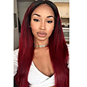 cheap Human Hair Wigs-Human Hair Lace Front Wig Brazilian Hair Straight Wig Layered Haircut 130% Natural Hairline / For Black Women / 100% Virgin Women's Short / Medium Length / Long Human Hair Lace Wig